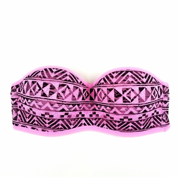 PINK Victoria's Secret Other - PINK Victoria's Secret Strapless Lace Bra Size S